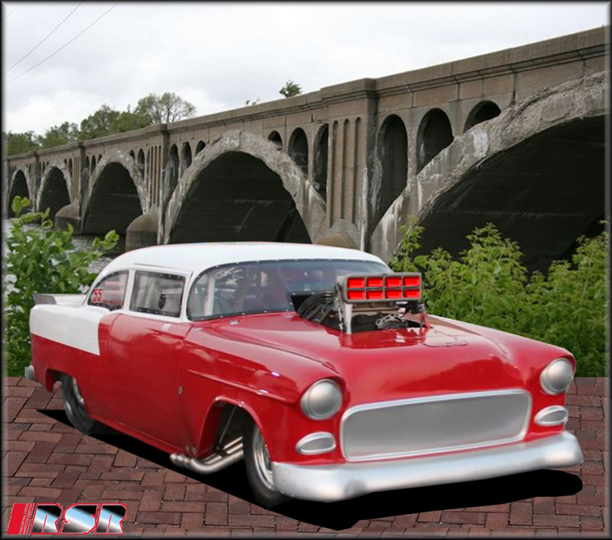 55_Chevy_Drag_Car_RED