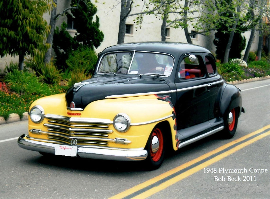 1948 Plymouth Coupe Hotrod