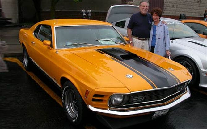c12_0608_woodward_049z+1970_Mustang_Mach_I_Arnold_Marks+front_view