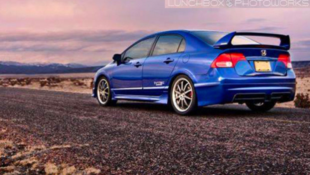 PAUL CAMPO'S SICK RIDE - 2008 CIVIC SI MUGEN!