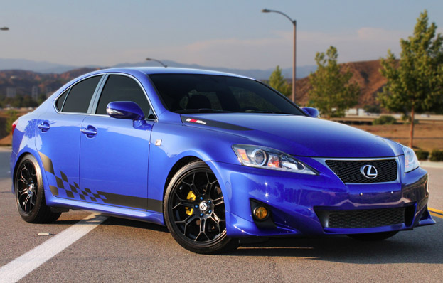 2012 Lexus Custom IS250 F Sport U2013 ONE VERY SICK EVERY DAY RIDE!